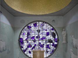 zdroj earch.cz/ Pelčák a partner architekti/ @ Filip Šlapal Popisek: Kaple sv. Vendelína