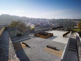 zdroj Pavla Melková Popisek: Rekonstrukce bastionu XXXI novoměstského opevnění