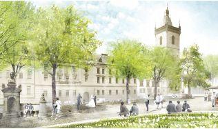 Karlovo náměstí se začíná proměňovat. Přibudou přechody a zmizí zábradlí