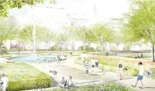 Karlovo náměstí v Praze oblékne nový kabát. Přibyde kavárna i hřiště