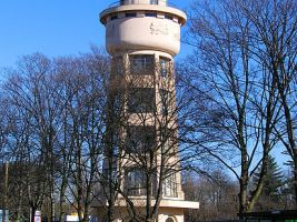 zdroj Wikimedia commons/ Pecka Popisek: Vodárenská věž ve Kbelích