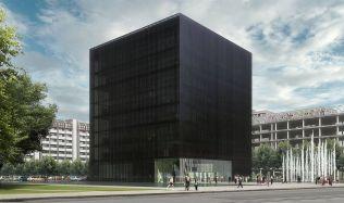 Knihovna se stane Černou kostkou