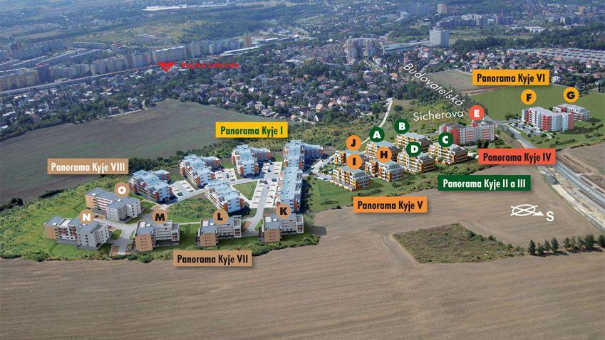Kolosální projekt Ekospolu je dokončen, Panorama Kyje už má své obyvatele