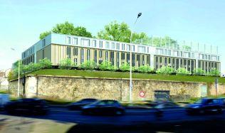 Koma Modular building hotels in Paris