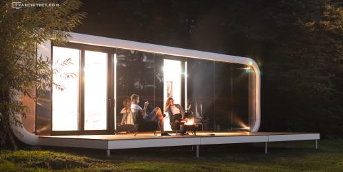 KOMA MODULAR představili na Designbloku nové modulární domky