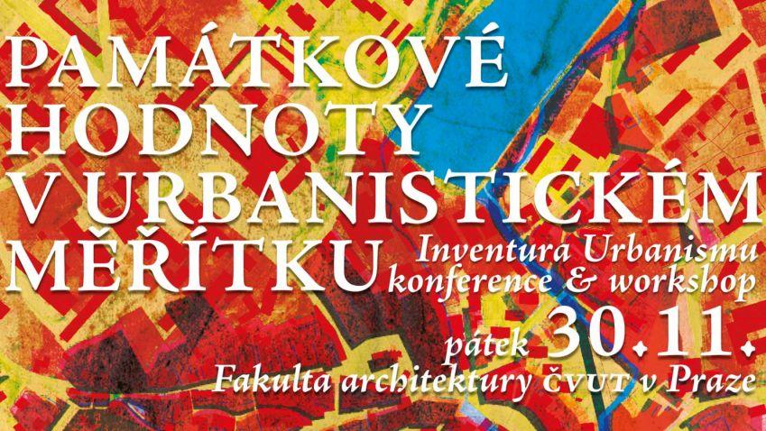 Konference Inventura urbanismu 2018 na Fakultě architektury ČVUT v Praze