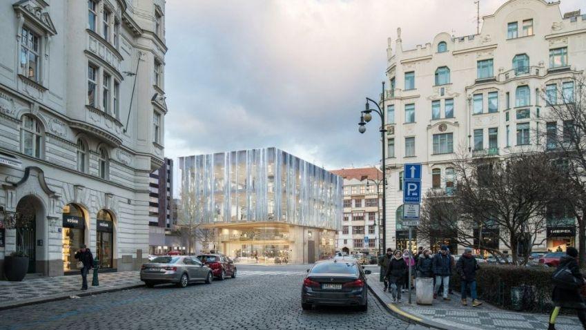 Kontroverzní novostavba u pražského hotelu Intercontinental získala územní rozhodnutí