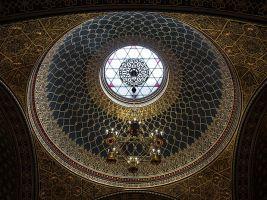 zdroj Wikimedia commons/ Uoaei1 Popisek: Kupole Španělské synagogy