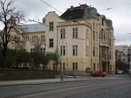 zdroj Wikimedia commons/ Leotard Popisek: Libeňská sokolovna