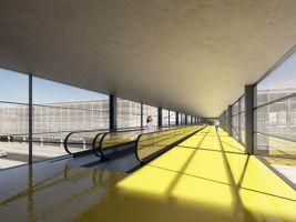 zdroj D3A Popisek: Vizualizace letiště
