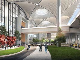zdroj igairport.com Popisek: Letiště Istanbul, vizualizace
