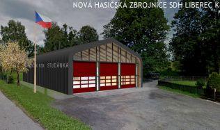 Liberečtí hasiči mají novou, moderní zbrojnici