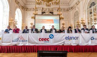 Lídři českého stavebnictví se setkali na Pražském hradě, aktuální situaci komentovali také členové vlády