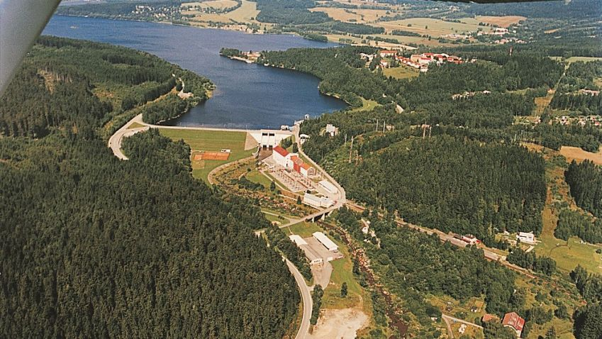 Lipno, největší česká přehrada slaví šedesátiny