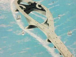 Lístek do Nového světa2 - Wright+Polivka Butterfly Bay Bridge
