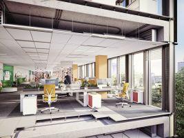 zdroj Piotr Pietruczak from peakstudio.eu Popisek: Projekt LIXA Office Park