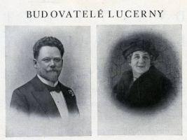zdroj lucerna.cz Popisek: Budovatelé Lucerny