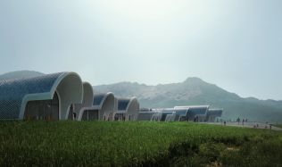 Lushan Primary School in Jiangxi, China by Zaha Hadid Architects