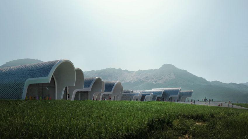 Lushan Primary School in Jiangxi, China by Zaha Hadid Architects