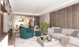 Luxury Apartments in Istanbul, Turkey by Metrogramma