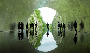 MAD Architects Restores the Kiyotsu Gorge Tunnel, Japan with Artistic Spaces for the 2018 Echigo-Tsumari Triennale