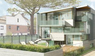 'Maison Glacé' Residence in Toronto, Canada by ELASTICOSPA