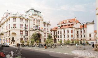 Mariánské náměstí v Praze bude v budoucnu bez aut. O revitalizaci se postará studio Xtopix