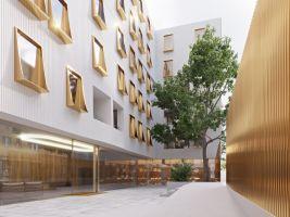 zdroj ČTK Popisek: Nová vizualizace bytového domu