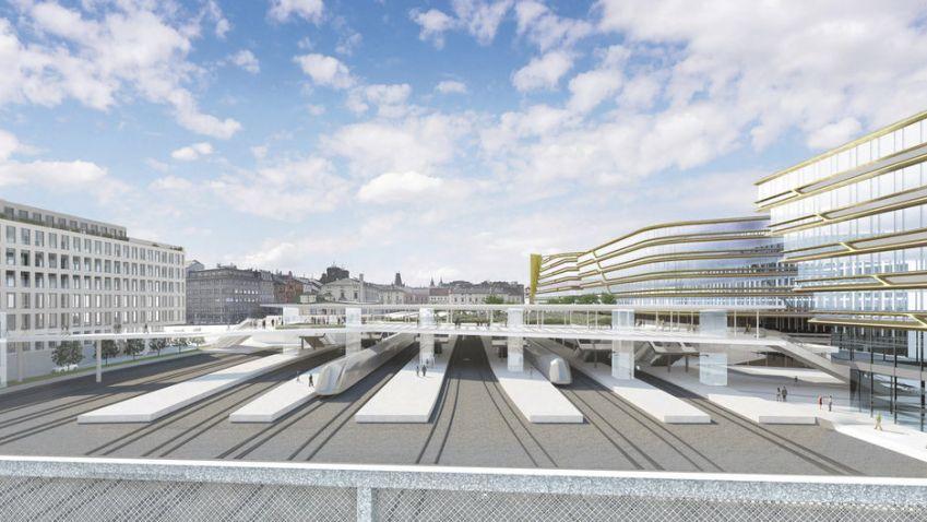 Masarykovo nádraží v Praze se změní k nepoznání, proměnou projde i jeho okolí