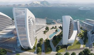 Masterplan of the Admiral Serebryakov Embankment in Novorossiysk, Russia by Zaha Hadid Architects