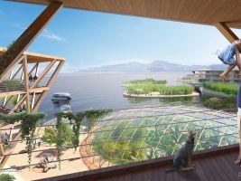 zdroj Oceanix Popisek: Zajištěna by měla být samostatnost v produkci energie, čerstvé vody a tepla
