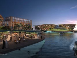 zdroj Oceanix Popisek: Město by mělo být libovolně rozšířitelné