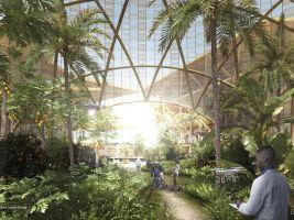 zdroj Oceanix Popisek: Budovy by byly až sedmipatrové kvůli těžišti