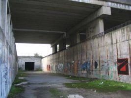 zdroj Wikimedia commons Popisek: Torzo tunelu bratislavského metra v Petržalce
