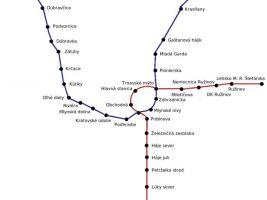 zdroj IDS BK Popisek: Plán bratislavského metra
