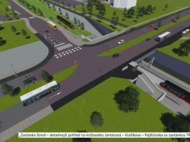 zdroj Cresco Group Popisek: Vizualizace jedné ze stanic bratislavského metra