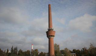 Mezi kulturní památky se zařadil nejvyšší tovární komín s vodojemem v republice