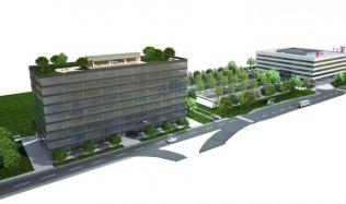 Milan Dubec staví v lokalitě Vlčince nové kanceláře