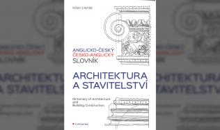 Milan Hanák: Anglicko-český a česko-anglický slovník - architektura a stavitelství
