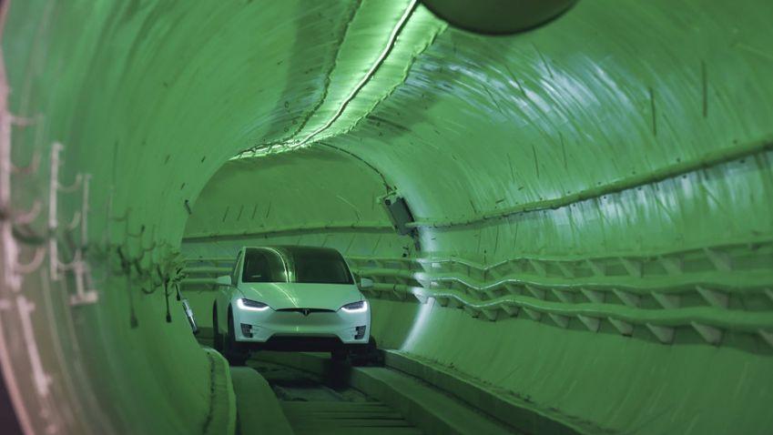 Nový tunel v USA umožní jet přes dvě stě kilometrů za hodinu