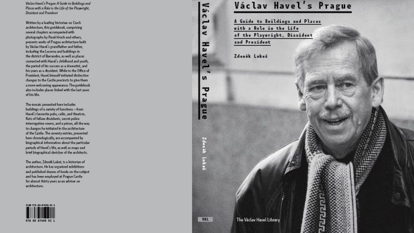 Kniha Praha Václava Havla vás zavede do života bývalého prezidenta