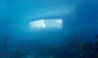 Milovníci ryb a mořských plodů mohou slavit, ve Skandinávii postaví první podmořskou restauraci v Evropě