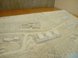 zdroj ČSOB/ Tomáš Nývlt Popisek: Model umístění obou budov v radlickém údolí