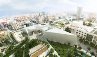 Mosque in Tirana, Albania by BIG