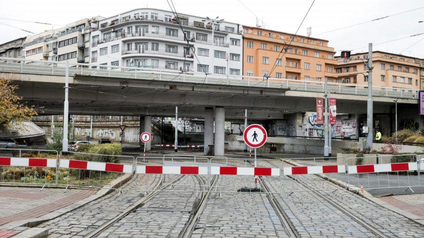 Most na Vltavské asi půjde k zemi, někdo ztratil veškerou dokumentaci