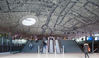 Municipal Offices and Train Station in Delft, Netherlands by Mecanoo