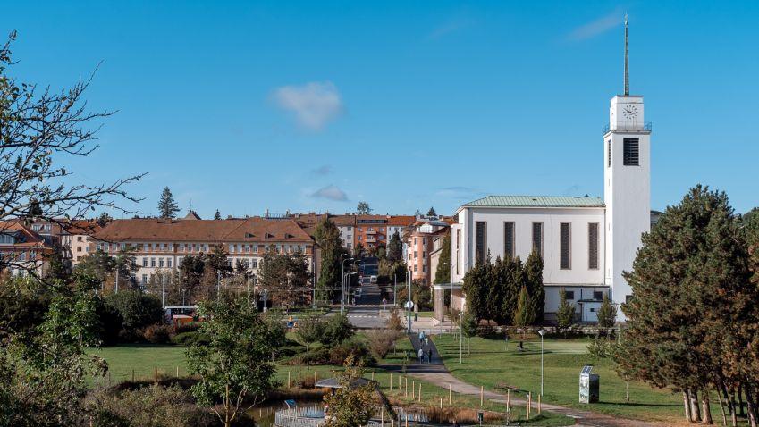 Na náměstí Míru v Brně by měl v budoucnu stát nový polyfunkční dům
