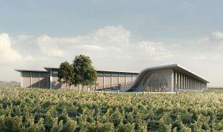 Na sklenku vína, západ slunce a koncert. Ateliér Chybik+Kristof navrhl originální vinařské zázemí