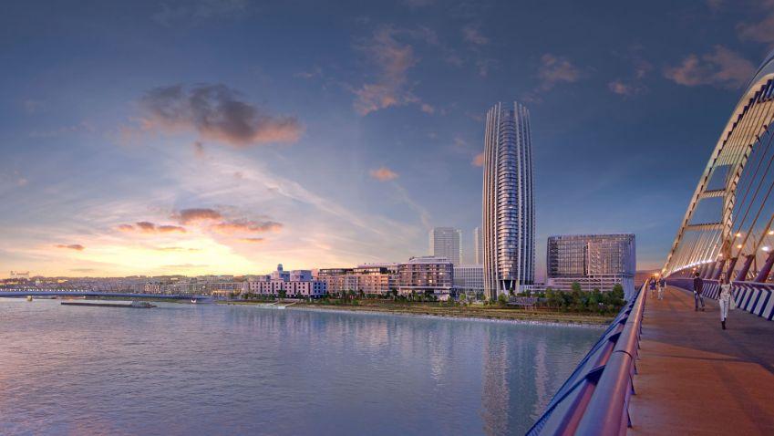 Na Slovensku by měl vyrůst 168 metrů vysoký mrakodrap