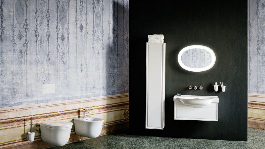 Nadčasová elegance v koupelnách dokáže vytvořit působivé a jemné prostředí